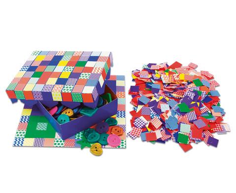 Mosaikplaettchen aus Papier 2000 Stueck-1