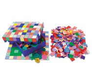 Mosaikplättchen aus Papier, 2000 Stück
