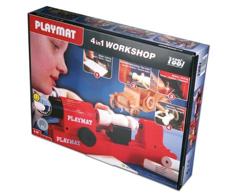 PLAYMAT  4 in 1 Maschinenbaukasten-6