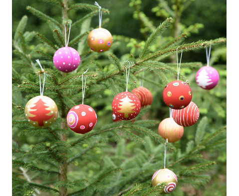 Papp-Weihnachtsanhaenger 12 Stueck-11