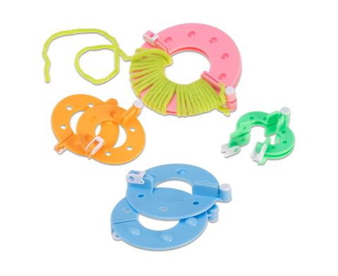 Pompon-Maker 4er-Set