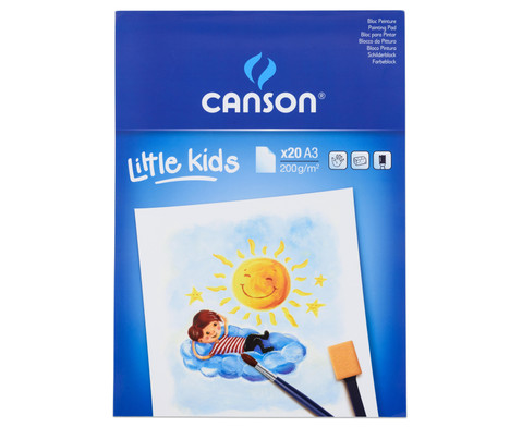 CANSON Malblock fuer Kinder-2