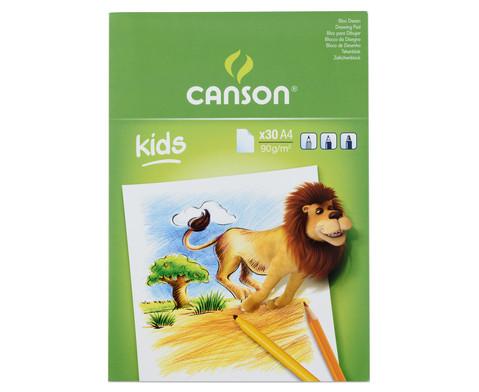 CANSON Zeichenblock fuer Kinder-4