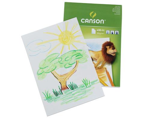 CANSON Zeichenblock fuer Kinder-5