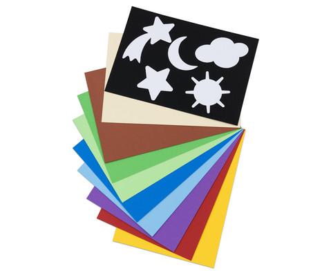 CANSON Buntpapier DIN A4 30 Bogen-1