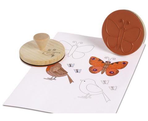 grosser Schmetterling-Stempel-3
