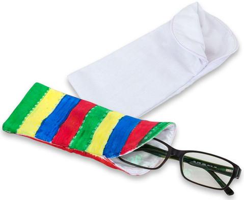 Brillen-Etui aus Stoff