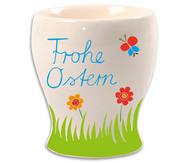 Porzellan- Eierbecher Kelch, 12 Stück