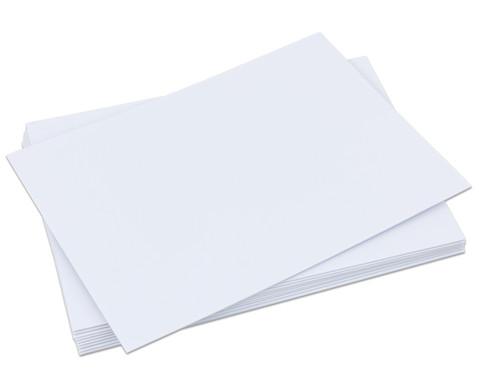 Polystyrolplatten papierbeschichtet weiss-18