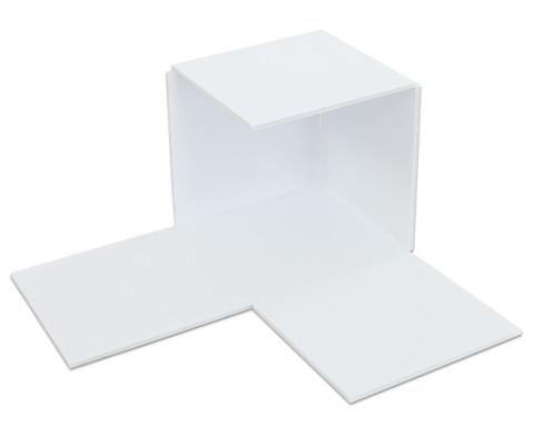 Polystyrolplatten papierbeschichtet weiss-9