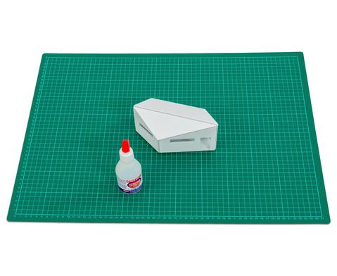 Polystyrolplatten papierbeschichtet weiss-26