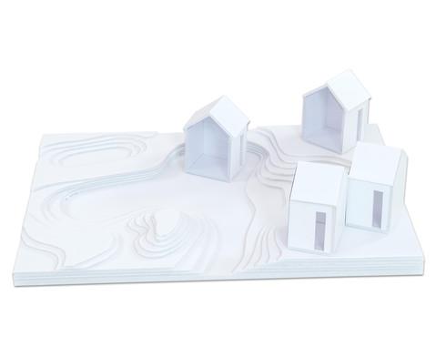 Polystyrolplatten papierbeschichtet weiss-20