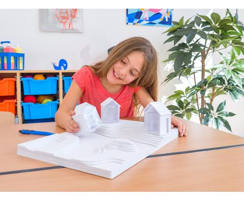 Polystyrolplatten papierbeschichtet weiss-21