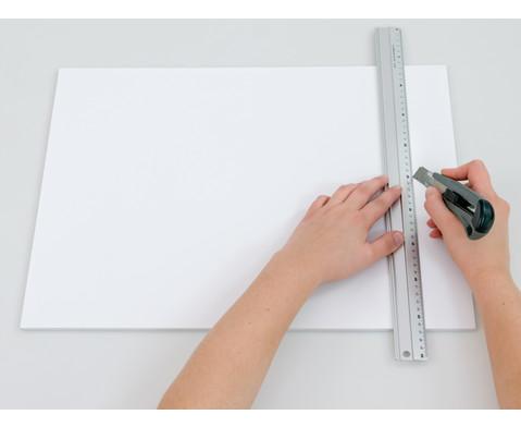 Polystyrolplatten papierbeschichtet weiss-23
