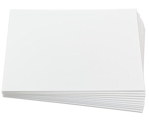 Polystyrolplatten papierbeschichtet weiss-31