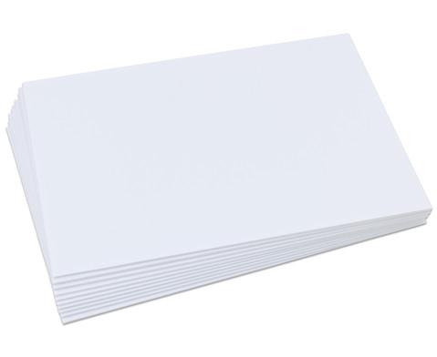 Polystyrolplatten papierbeschichtet weiss-32