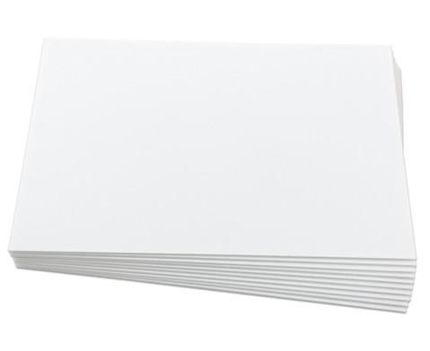 Polystyrolplatten papierbeschichtet weiss-24
