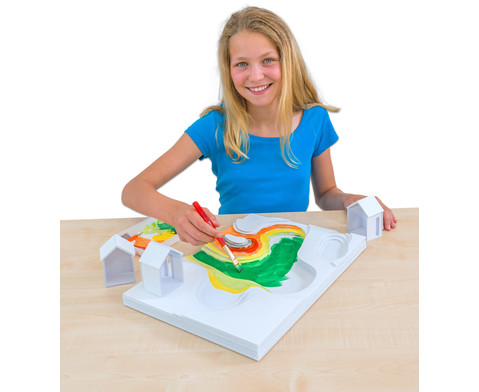 Polystyrolplatten papierbeschichtet weiss-25