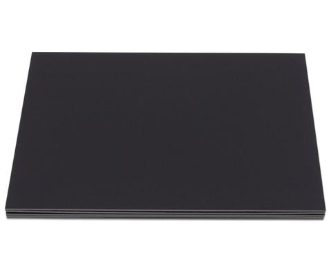 Schwarze Foamboards 50 x 70 cm-1