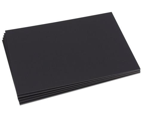 Schwarze Foamboards 50 x 70 cm-2