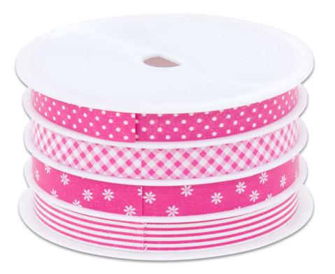 Geschenkband rosa 4er-Set-2