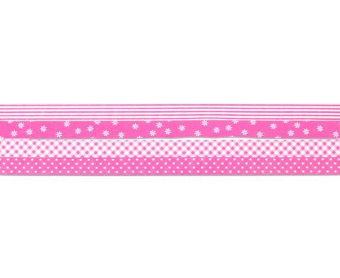 Geschenkband rosa 4er-Set-3