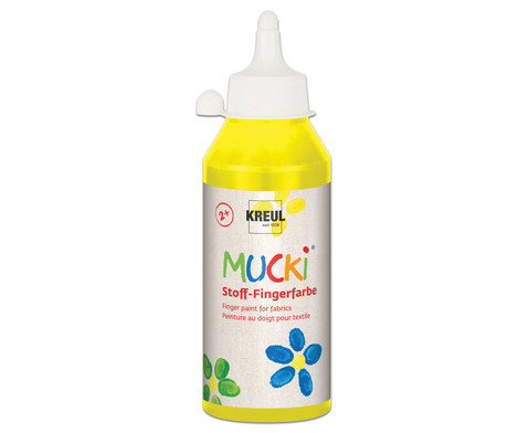 MUCKI Stoff- Fingerfarben 250ml-15