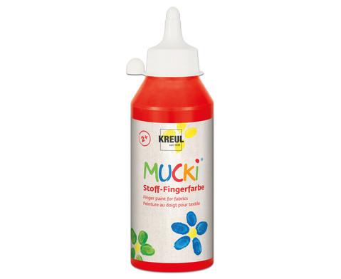 MUCKI Stoff- Fingerfarben 250ml-14