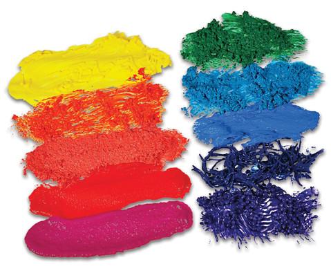Strukturmaterial fuer Fingerfarben