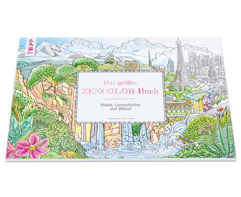 Das groesste Zencolor-Buch Staedte Landschaften und Weltall-1