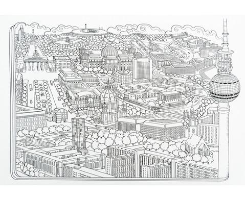 Das groesste Zencolor-Buch Staedte Landschaften und Weltall-2