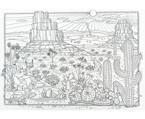 Das groesste Zencolor-Buch Staedte Landschaften und Weltall-3