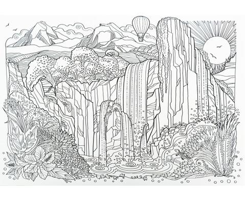 Das groesste Zencolor-Buch Staedte Landschaften und Weltall-4