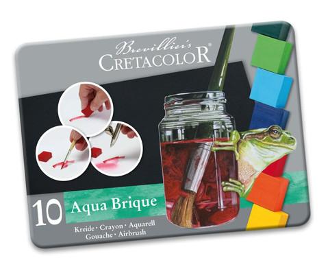 Aqua Brique 10 Stueck im Metall-Etui-2