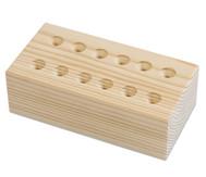 Prickenadelständer aus Holz