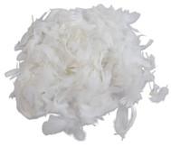 Marabu-Federn, weiß