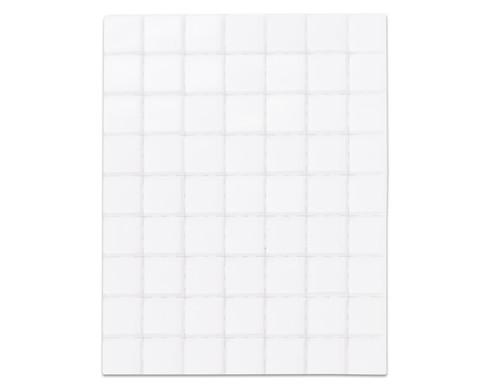 Selbstklebende Mosaikplaettchen 10x10mm-12