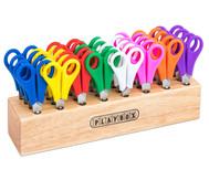 Scherenständer aus Holz, inkl. 32 Scheren
