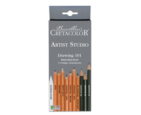 Cretacolor Drawing Set 11-tlg-2