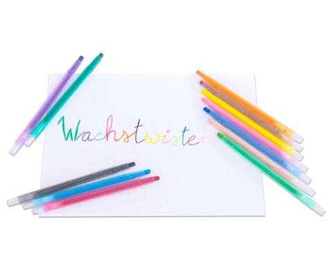 Wachs-Twister 12 Stueck-3