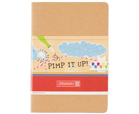 Notizbuch DIN A6 blanko-1
