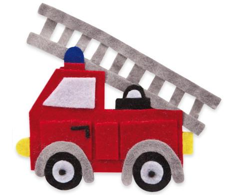 Filzbuttons-Set Fahrzeuge-6