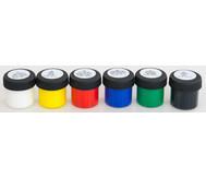 Schulmalfarbe, 6 Farben