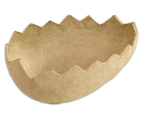 Eierhaelften als Osternest 5 Stueck