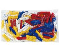 Beutel mit 100 Klammern zu Colorclips Material: Kunststoff