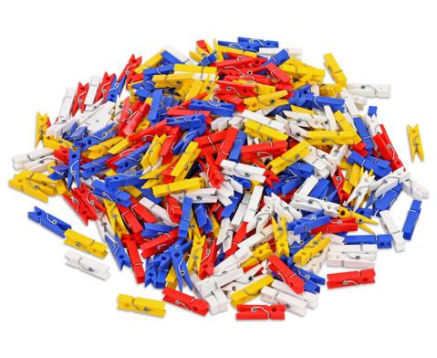 Beutel mit 400 Klammern zu Colorclips Material Kunststoff-1