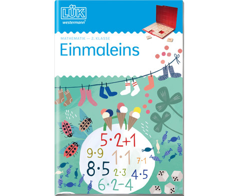 LUEK Einmaleins ab 2 Klasse