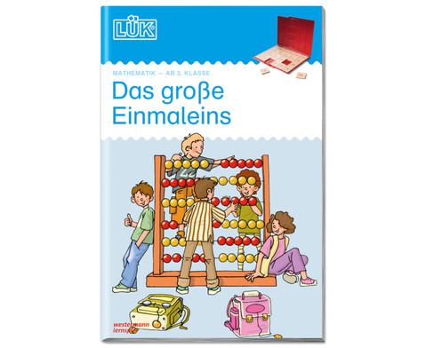 LUEK-Heft Das grosse Einmaleins-1