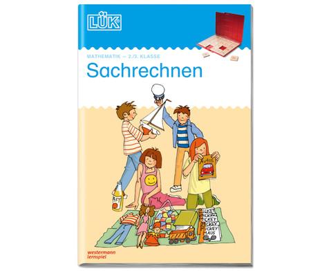 LUEK Sachrechnen Textaufgaben fuer 2 - 3 Klasse-1