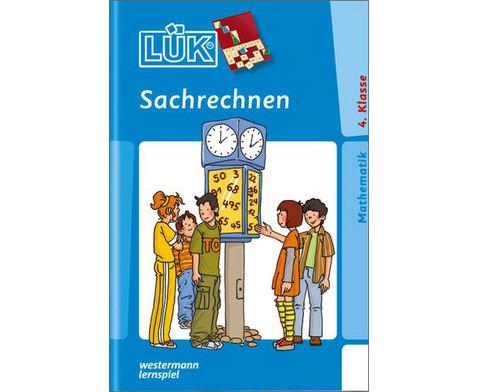 LUEK-Heft Sachrechnen 4 Klasse-1